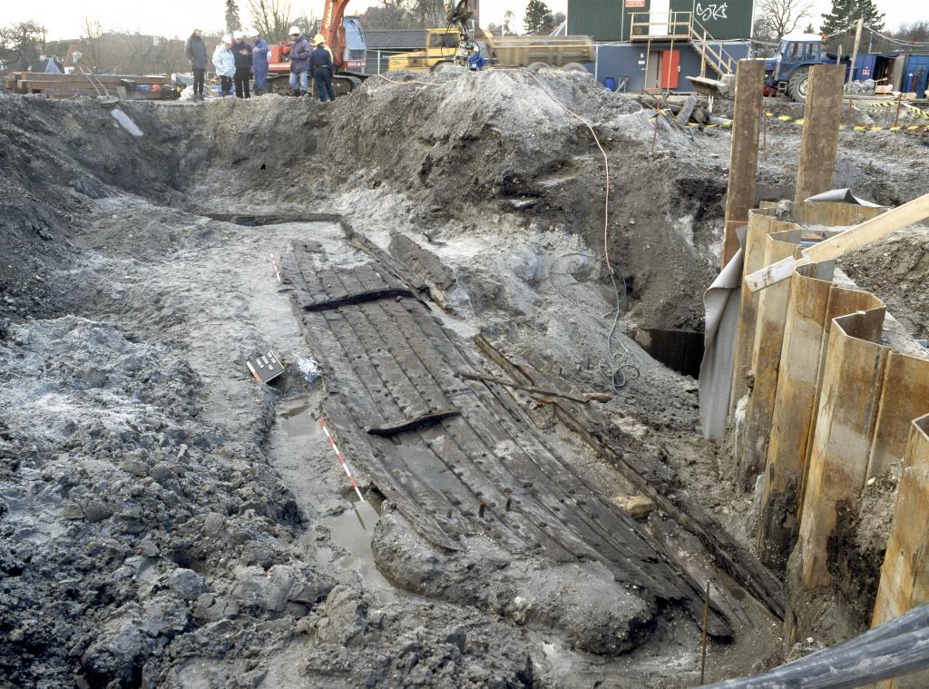 Roskilde 3 under udgravning
