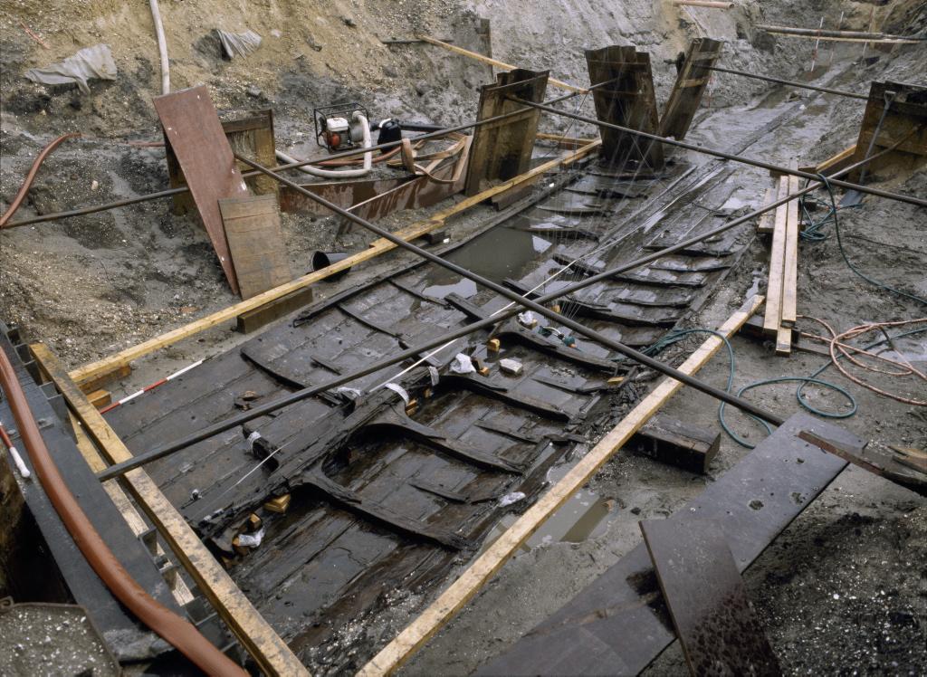 Roskilde 6 under udgravning