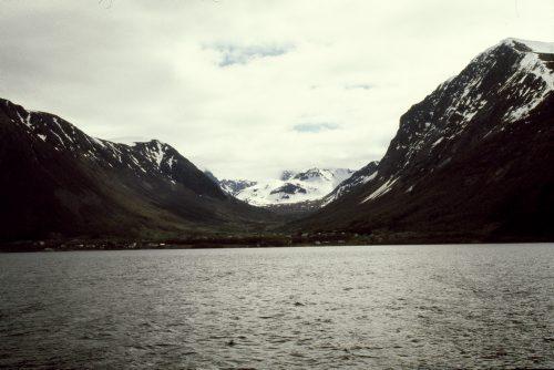 Et lille stykke af den norske vestkyst.