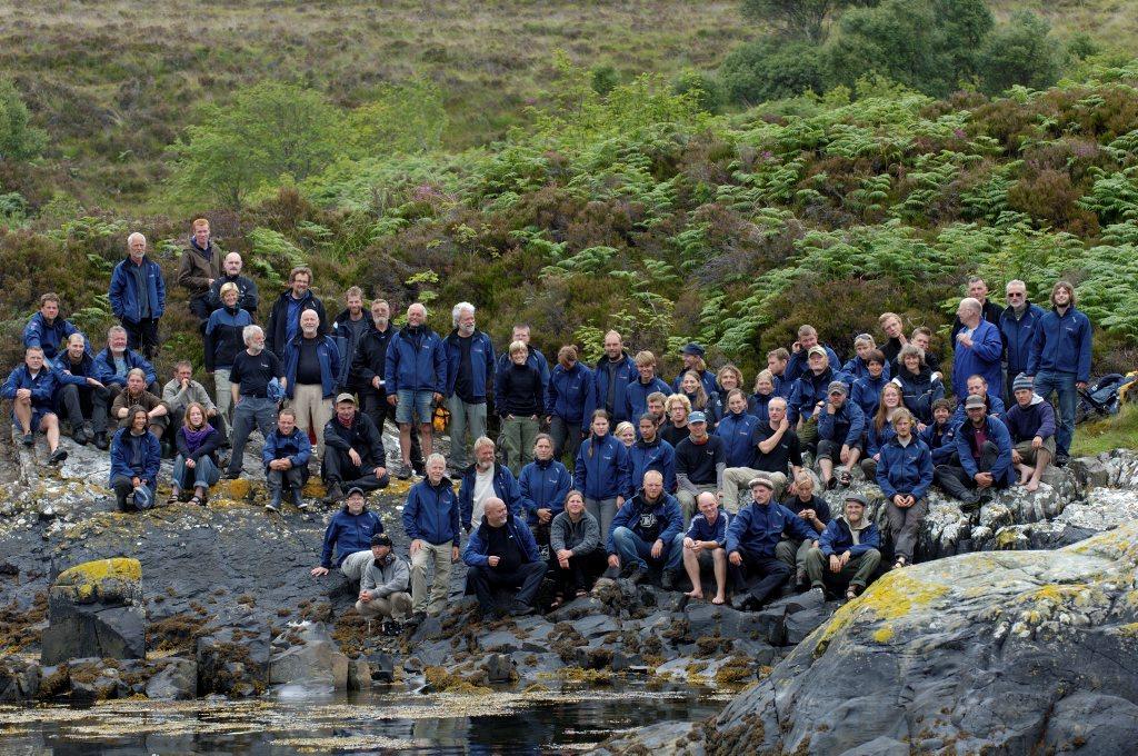 Havhingstens besætning 2007, Isle of Skye, Skotland. Foto: Werner Karrasch