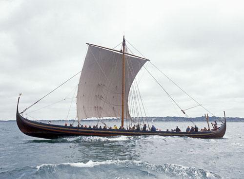I udstillingen Fuldblod på havet kan man følge rejserne med Havhingsten fra Glendalough og togtet til Dublin fra 1. juli. Foto Werner Karrasch