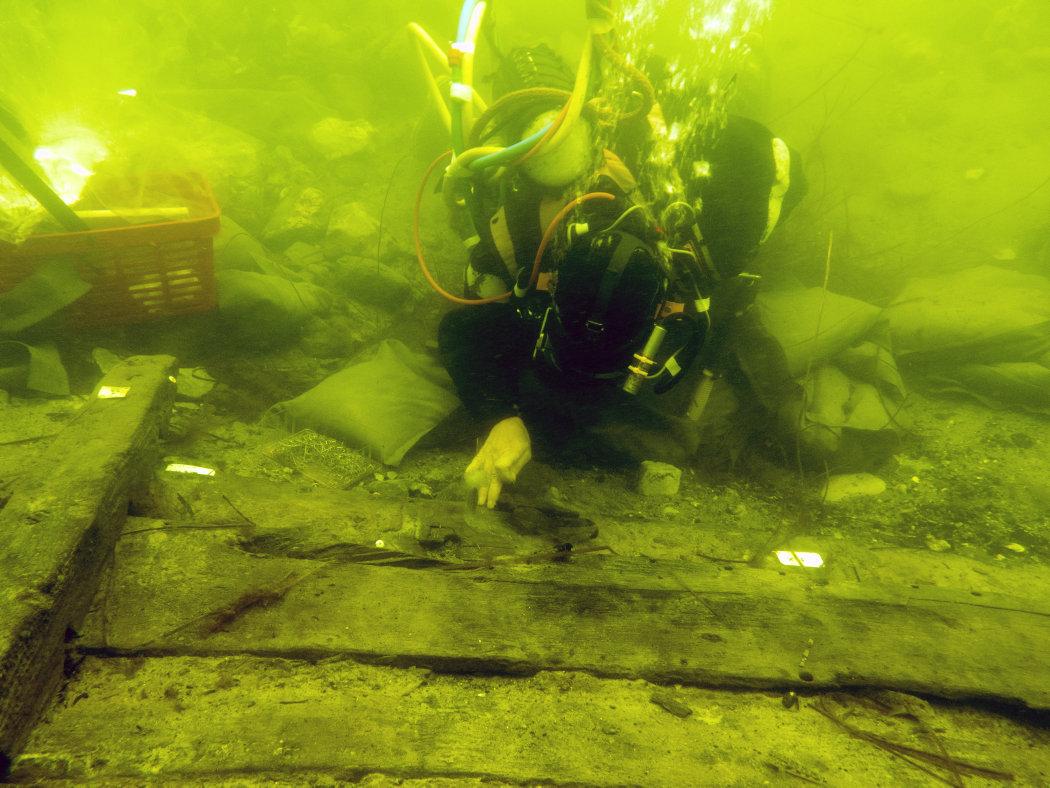 Undervandsudgravning