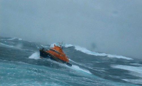 ...Og her kan du se, når det virkelig går løs! © Vikingeskibsmuseet. Foto: Preben Rather Sørensen.