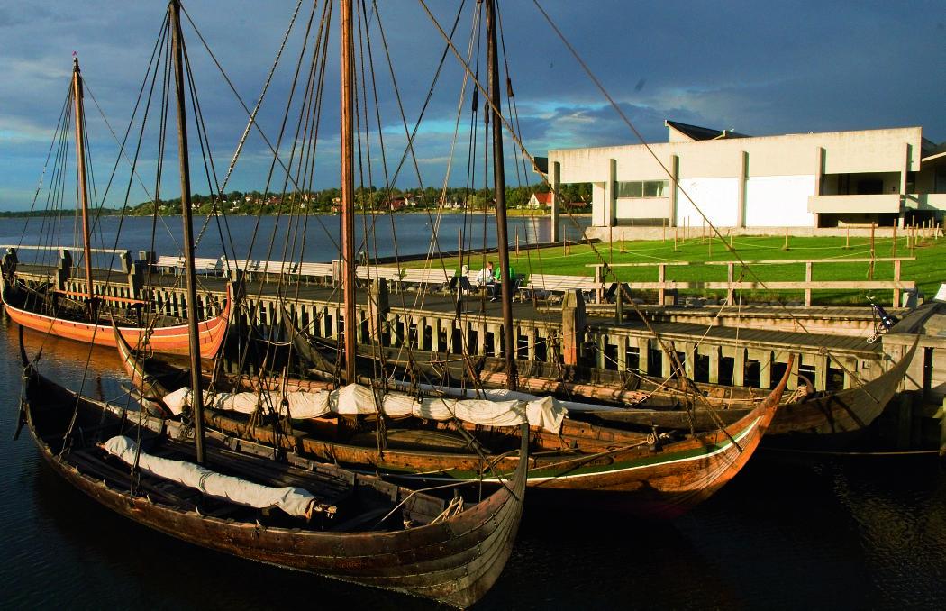 I Museumshavnen ligger museets bådsamling