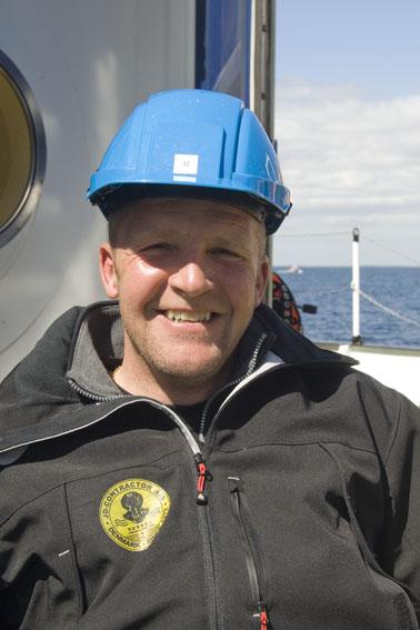 Tonni Andersen: Dykkerleder og erhvervsdykker. Ansvarlig for dykning hos JD-Contractor