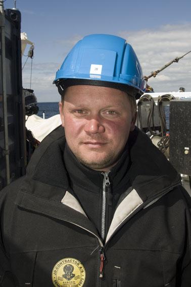 Morten Vendelbo: Erhvervsdykker hos JD-Contractor