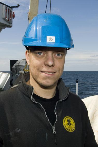 Jens D. Kjeldgaard: Matros på VINA