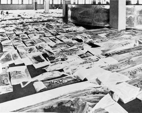 Efter udgravningen lå der et kæmpe puslespil og ventede. Fragmenterne skulle registreres og samles.