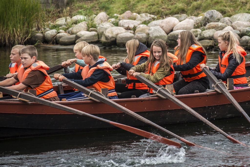Kom ud og sejl på fjorden med dine klassekammerater i grundskolen
