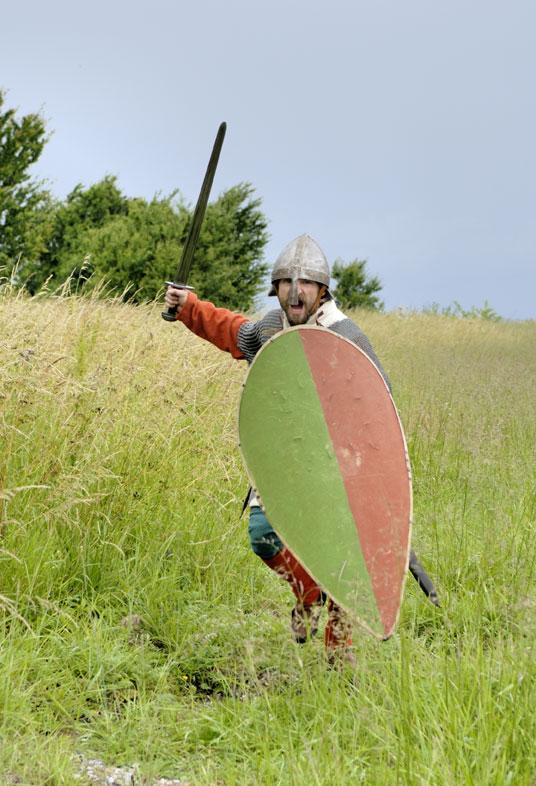 Lokes Frimænd. Foto: Werner Karrasch, Vikingeskibsmuseet.