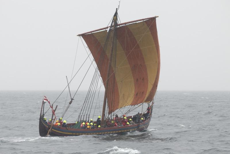 Havhingsten under sejlads til Norge 2007. Foto: Morten Nielsen
