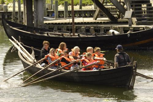Havhingsten.dk byder velkommen til et univers af viden om Vikingetiden. Foto: Werner Karrasch