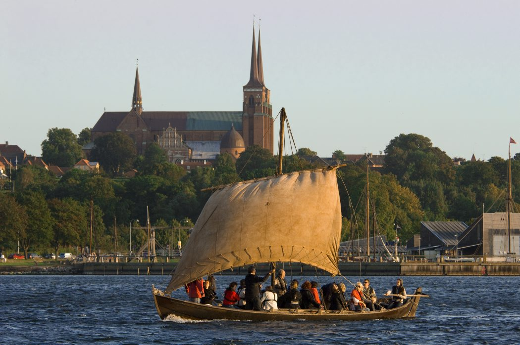Go on a unique sailingtrip on Roskilde Fjord in one af our replicas