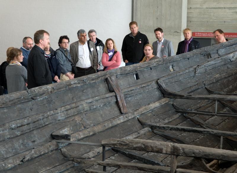Book en rundvisning på vikingeskibsmuseet, også uden for museets åbningstider