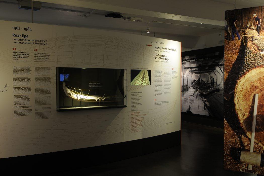 Hjerteblod - 50 år med vikingernes skibe var udstillet i 2012-2013