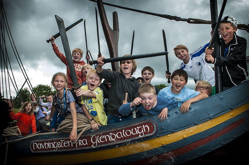Vikingeskibsmuseet har aktiviteter skræddersyet til børn.