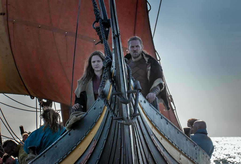 The Viking Ship The Sea Stallion from Glendalough is often used for professional filming