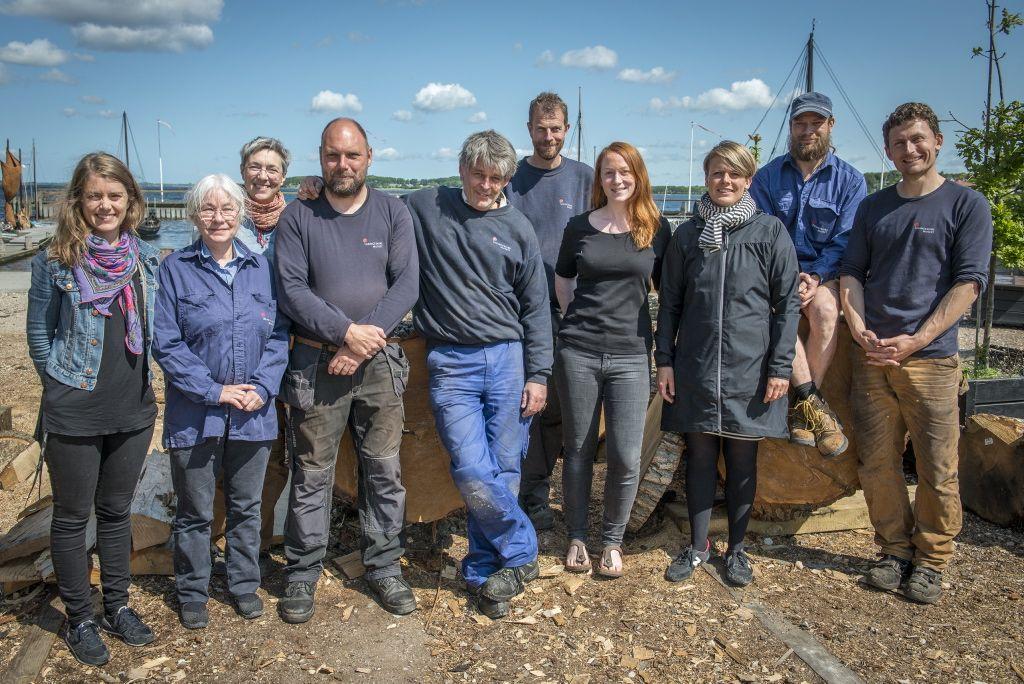 Teamet bag Gislinge Projektet. Foto: Werner Karrasch