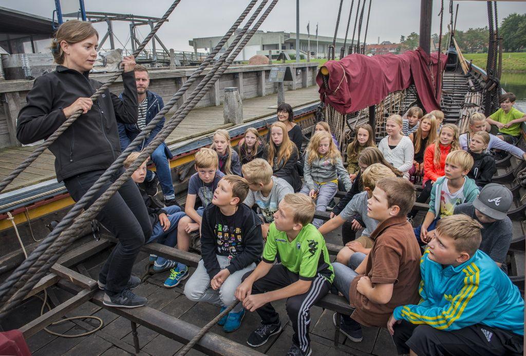 Gør indskolingen sjov og spændende med et besøg på vikingeskibsmuseet