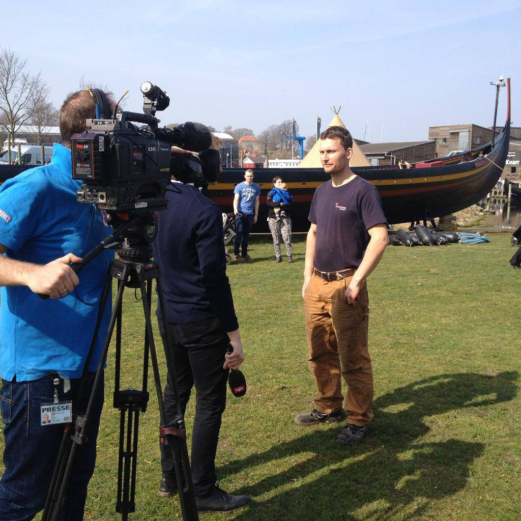 The Viking Ship Museum provides dedicated, professional staff for production companies.