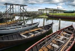 The Boat Collection can be experienced in the museum harbour throughout the sailing season and on land during winter.