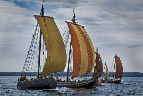 The Viking ships have made their mark in the Nordic, maritime culture. Today's Nordic, wooden boats are still being built based on the same tradition as in the Viking Age.