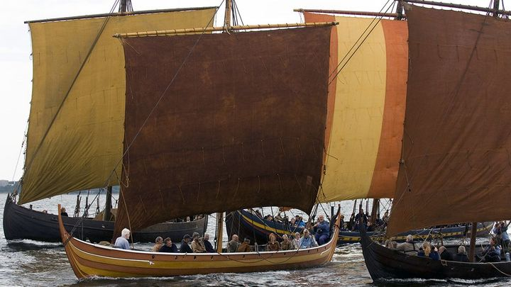 You can find the Viking Ship Museums boat collection in the harbour or at our website.