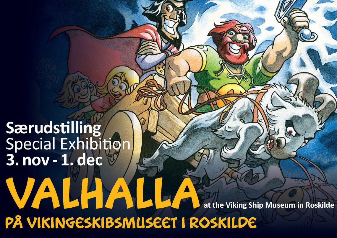 [Translate to english:] 'Valhalla på Vikingeskibsmuseet' 3. november til 1. december. Copyright: Peter Madsen