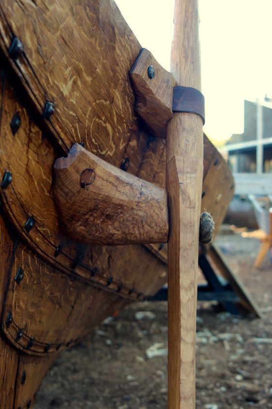 Rudder and tackle: Vikingeskibsmuseet i Roskilde