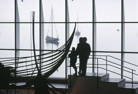 As a Friend of the Viking Ship Museum, you can visit, as often you like. Photo Werner Karrasch
