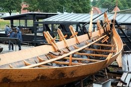 Viking Ship Museum: In the Boatyard the boat builders buil Viking ships and other nordic boats using the tools and techinques of the Viking Age.